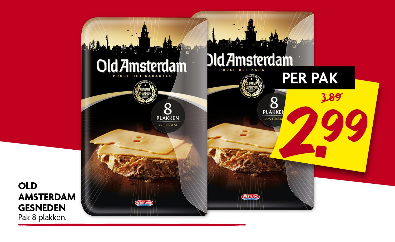 Old Amsterdam gesneden