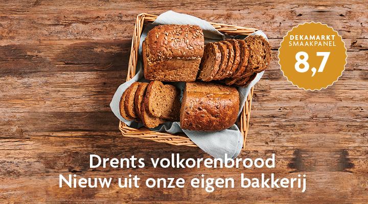 Drents volkorenbrood