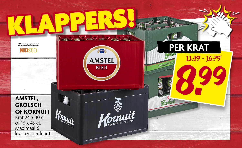 Amstel, Grolsch, Kornuit