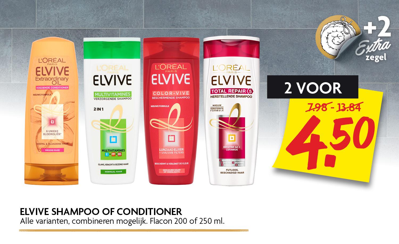 Elvive shampoo of conditioner