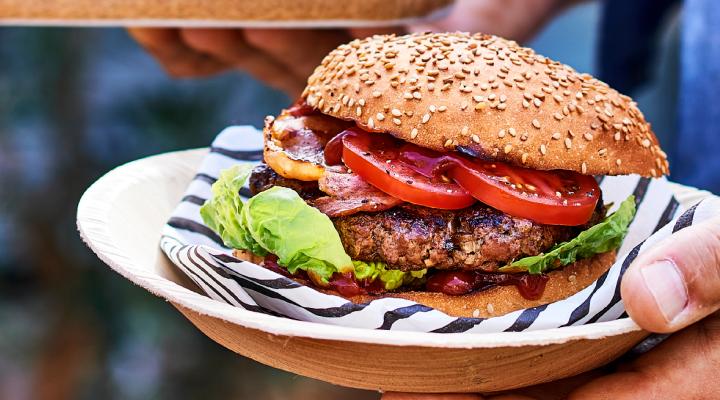 BBQ hamburger speciaal