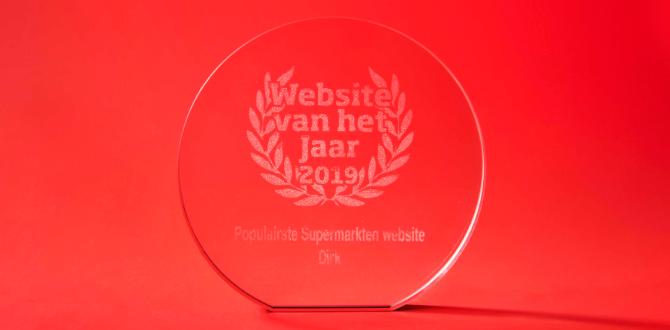 Dirk wint de Award