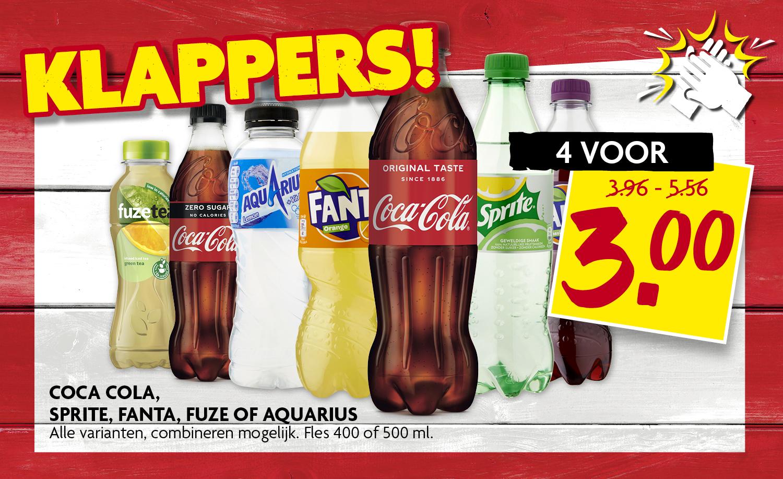 Coca Cola, Sprite, Fanta, Fuze of Aquarius