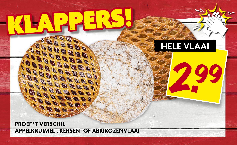 PTV Appelkruimel-, kersen-, of abrikozenvlaai