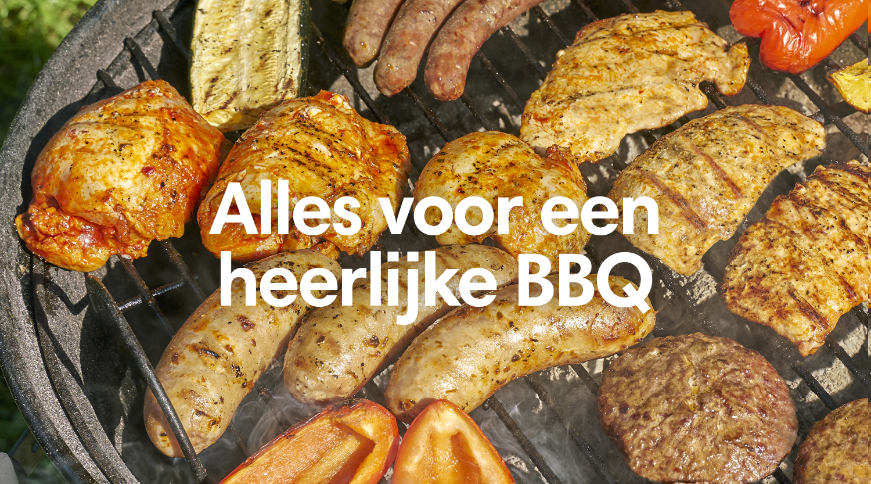 Themalijst banner bbq vlees