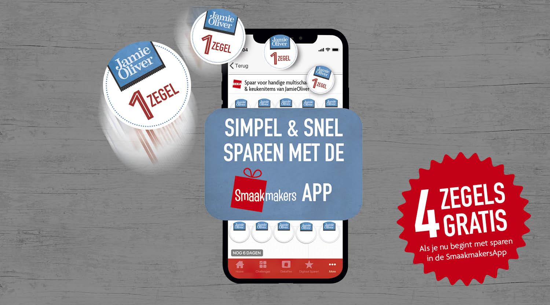 Sparen met de App
