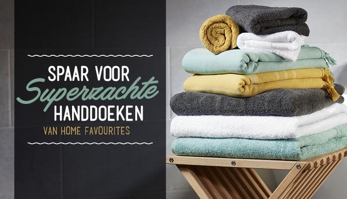 Spaar voor handdoeken