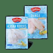 Queens Alaska koolvis- of pangafilets