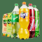 Fanta, Sprite, Fuze Tea of Fernandes