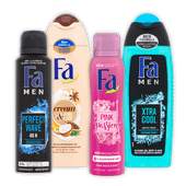 Fa deodorant of douchegel
