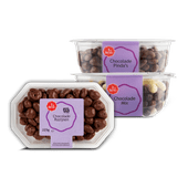 1 de Beste chocolade pinda's, rozijnen of mix