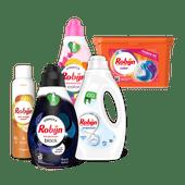 Robijn wasmiddel of Dry wash spray