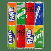 Coca-Cola, Fanta, Sprite of Fernandes