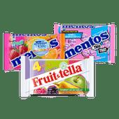 Mentos of Fruit-tella