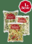 1 de Beste pastagroente of roerbakgroente