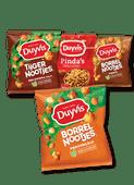 Duyvis Borrel- of tijgernootjes of oven baked of pinda's