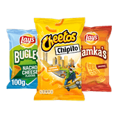 Lay's Bugles, Hamka's of Cheetos