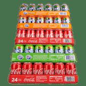Coca-Cola, Fanta of Sprite