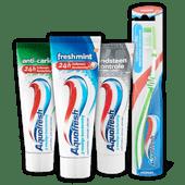 Aquafresh tandenborstel of tandpasta