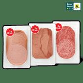 1 de Beste Ardenner boterhamworst, salami of varkenslever