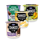 Danio kwark of Vegan