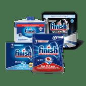 Finish vaatwastabletten of reiniger