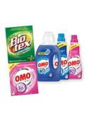 Omo wasmiddel of Biotex