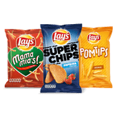 Lay's Superchips, Strong, Mama mia's of Pomtips