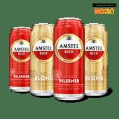 Amstel pilsener of blond