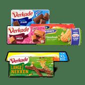 Verkade koek of chocolade of McVitie's
