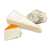 Brie, Saint Paulin of Viking Blue