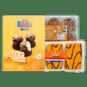 Buys oranjezoenen, Nora oranjekoekjes of Aviateur oranjekoekstukjes