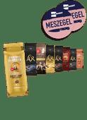 L'or of Douwe Egberts koffiebonen