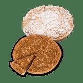 Speculaaskruimel- of appelkruimel vlaai