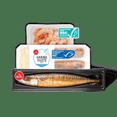 1 de Beste gerookte makreel, haringfilets