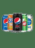 Pepsi, Sisi, 7-up of Royal Club