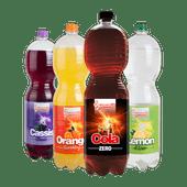 Summit cola, orange, cassis of lemon & lime