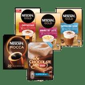 Nescafé koffiespecialiteiten of Hot Chocolate mix