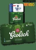 Grolsch of Bavaria pilsener of 0.0%