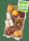 DekaVers American cookies, muffins, bananenbrood of carrot cake