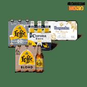 Leffe, Hoegaarden of Corona