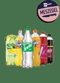 Fanta, Sprite, Fuze, Dr Pepper of Fernandes