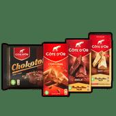Côte D'or chocoladereep of Chokotoff