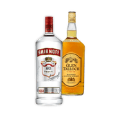 Glen Talloch whisky of Smirnoff wodka