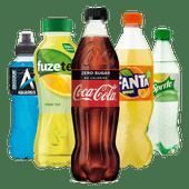 Coca-Cola, Fanta, Sprite, Fuze Tea of Aquarius