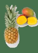 Del Monte ananas of grote mango