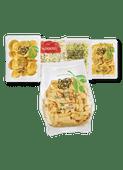 Daily Chef verse pasta, 1 de Beste pastagroente of Fresh&Easy courgette spaghetti