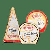 Président brie 60+, crème de brie