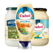 Calvé of Hellmann's mayonaise