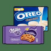 Milka of Oreo koek